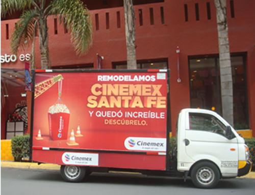 Vallas y Carteleras Móviles Cinemex